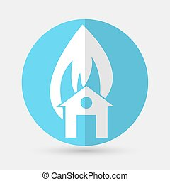 house icon on a white background