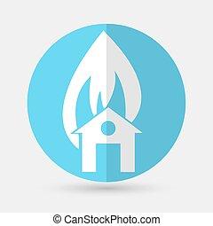 house icon on a white background