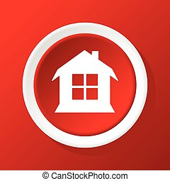 House icon on red