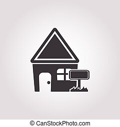 house icon on white background