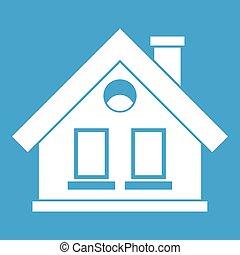 House icon white