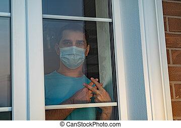 Forced self-isolation during coronavirus COVID-19 - House ...