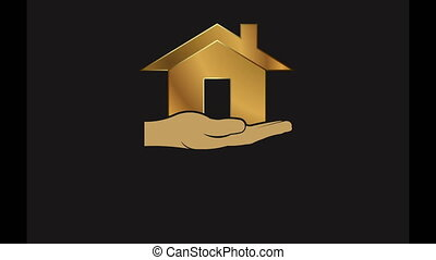 House in Hand Video Animation