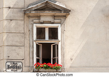 House in Inner City, Vienna - Typical historical house along...