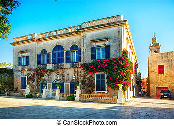 house in Mdina.