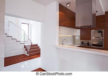 House in minimalistic design