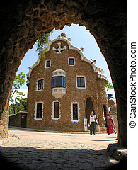 house in Park Guell