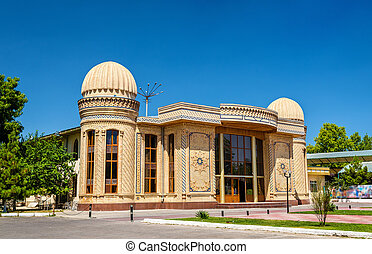 House in the centre of Samarkand, Uzbekistan