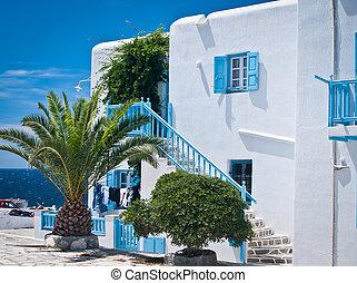 House in the Greek Islands