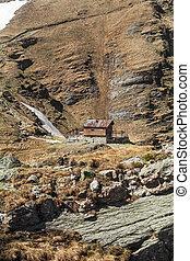 House in the Bucegi Mountains (South Carphatians) Romania