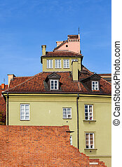 House in the Old Town of Warsaw
