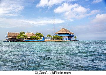 Rosario Islands - House in the Rosario Islands near ...