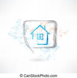 house in the speech bubble