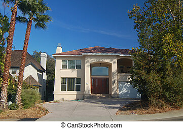House in the suburbs - A beautiful house in the suburbs of...