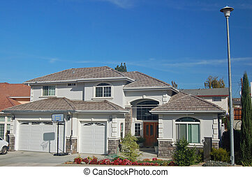 House in the Suburbs - A beautiful house in the suburbs