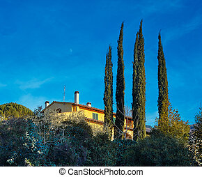 House in the Tuscany