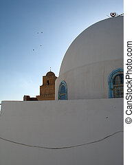 House in Tunisia with cupola