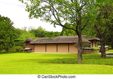 House in which Kim Il Sung was born, Pyongyang, North Korea...