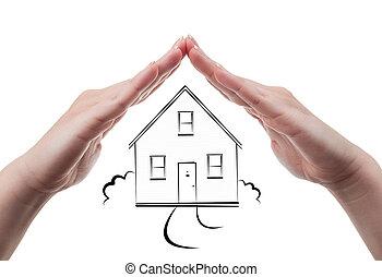 House insurance concept.