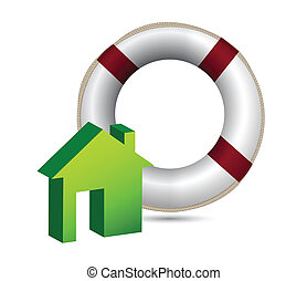 House insurance concept