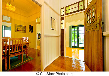 House interior - Classic style interior of a house more than...