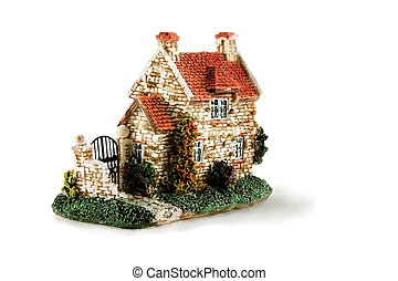 house isolated over white background