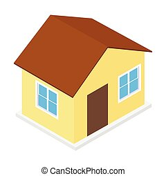 House isometric 3d icon