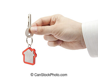 House key in hand