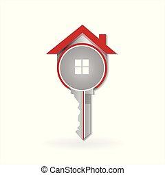 House key lovo vector