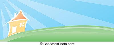 House landscape