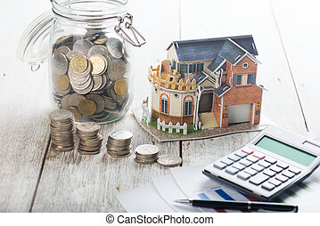 house loan concept photo