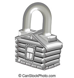 house., lock.