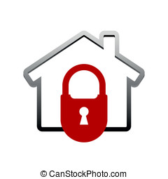 House lock icon