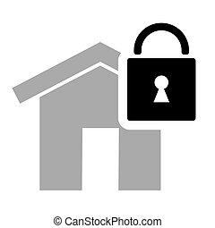house locked