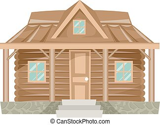 House Log Cabin