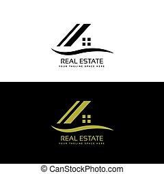 house logo design concept vector