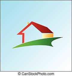House logo design