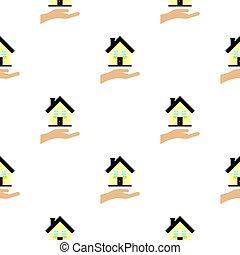 House logo, flat style
