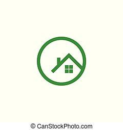 house logo vector ,
