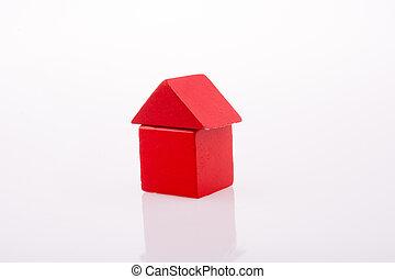 House made of Blocks