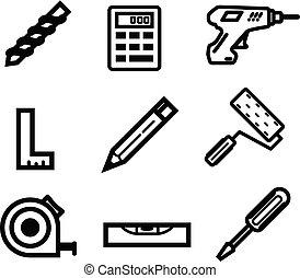 House Maintenance - Repair - Icon Set