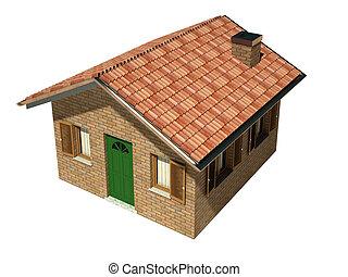 house model background