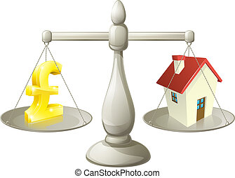 House money pound scales