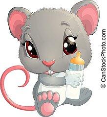 House Mouse - Illustration