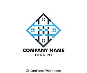 House Moving Logo Design Template
