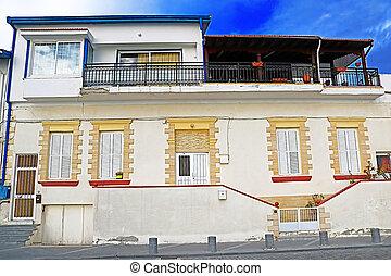House near the sea in Larnaca, Cyprus