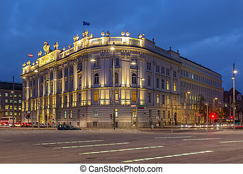 house of industry, Vienna - House of industry was built in...