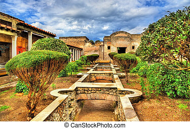 House of Julia Felix in Pompeii - Italy
