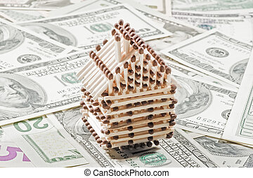 House of matches on the dollar