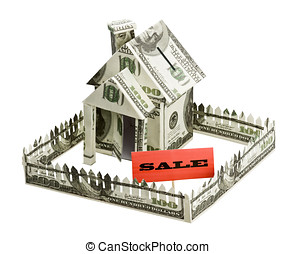 house of money and sign the sale
